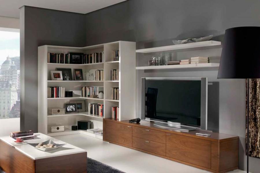 Muebles con capacidad de almacenaje para el salón