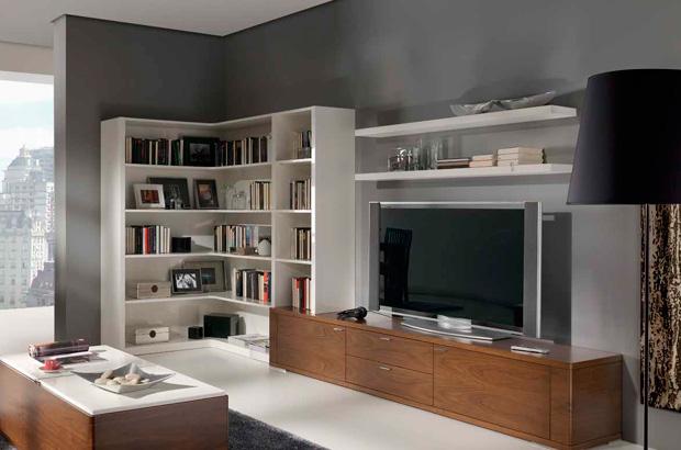 Muebles con capacidad de almacenaje para el salón - Talazar