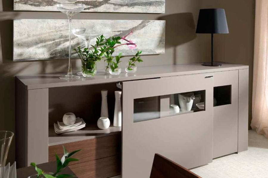 Muebles minimalistas para el comedor