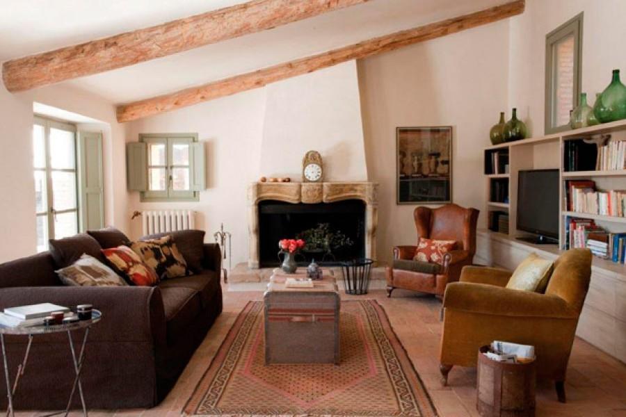 El estilo rústico provenzal para decorar tu salón