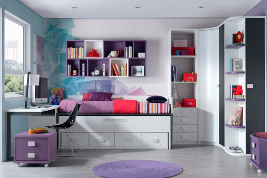 Dormitorios juveniles polivalentes