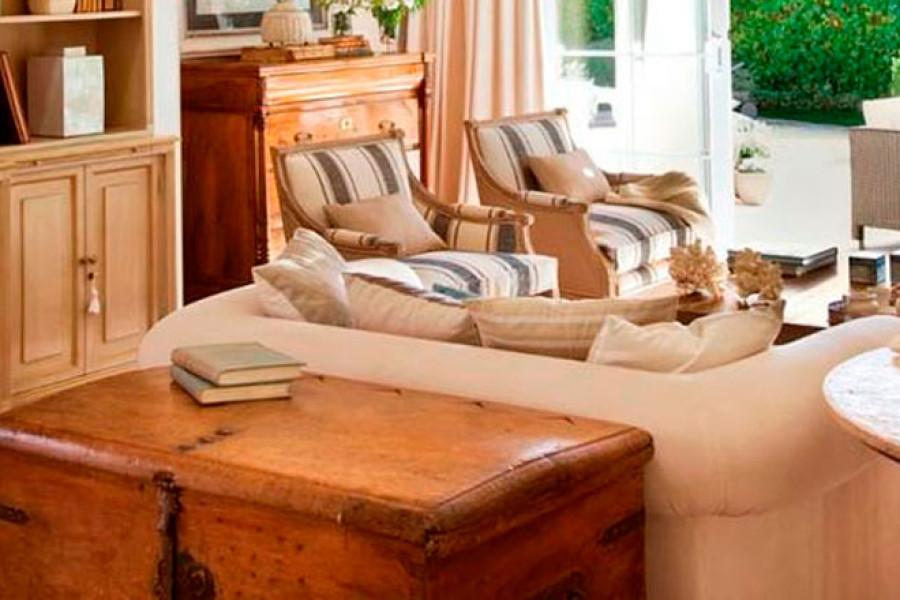 Cómo combinar muebles rústicos y modernos